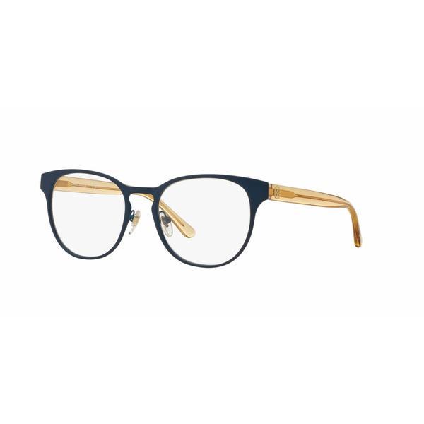 Tory Burch Womens TY1048 3147 Blue Metal Phantos Eyeglasses 22888218