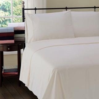 Superior 300 Thread Count Cotton Wrinkle Resistant Bed Sheet Set