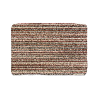 "Muddle Mat Candy-stripe Absorbant Cotton Washable Accent Rug - 2'8"" x 3'2"""