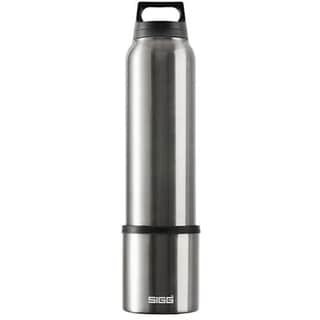SIGG Silver Aluminum Classic Thermo Water Bottle With Cup 22934195