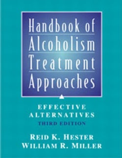 Handbook of Alcoholism Treatment Approaches: Effective Alternatives (Hardcover)