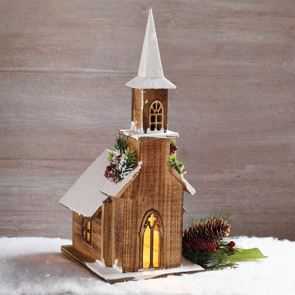 Wood Church Decor 22951822