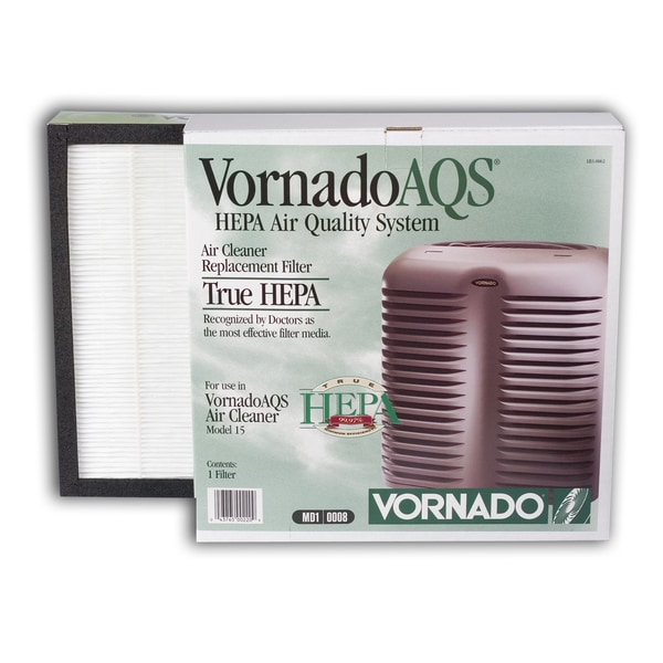 Vornado AQS 15 Replacement HEPA Filter 22952601