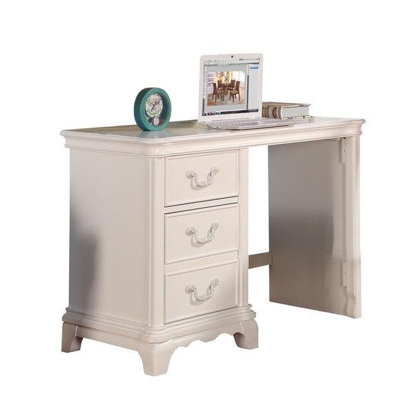 Compare Computer Desk Acme Furniture White Black