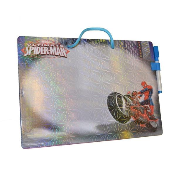 Marvel Spiderman Plastic Dry Erase Message Board 22986588