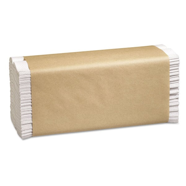 Marcal PRO Folded Paper Towels 10 1/2 x 12 3/4 C-Fold White 150/Pack 16 Packs/Carton 22990311