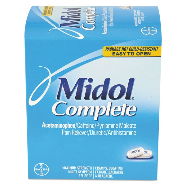 Midol Complete Menstrual Caplets Two-Pack 30 Packs/Box 22990397