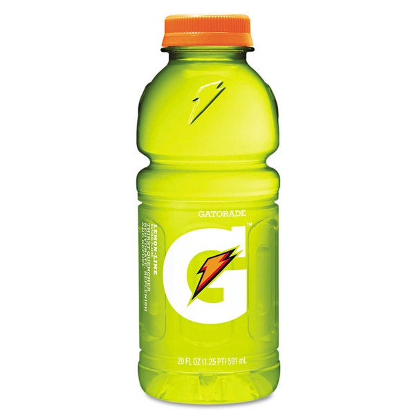 Gatorade G-Series Perform 02 Thirst Quencher Lemon-Lime 20-ounce Bottle 24/Carton 22994236
