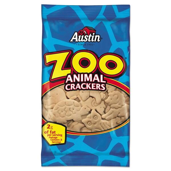 Austin Zoo Animal Crackers Original 2-ounce Pack 80/Carton 22995334