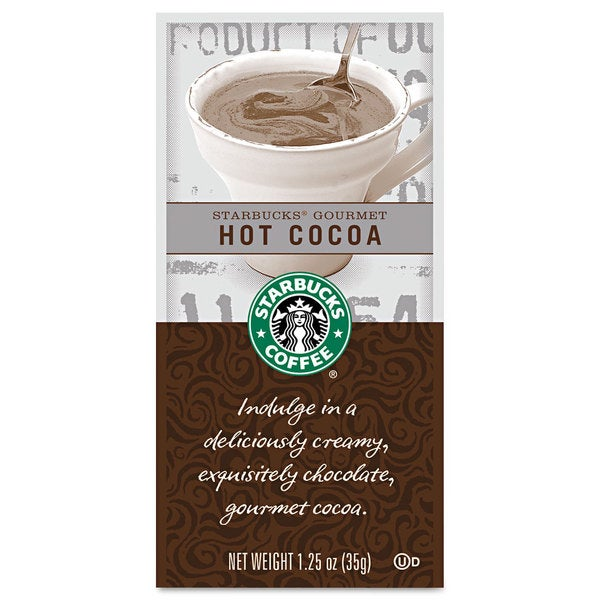 Starbucks Gourmet Hot Cocoa 1.25-ounce Packet 24/Box 22995481
