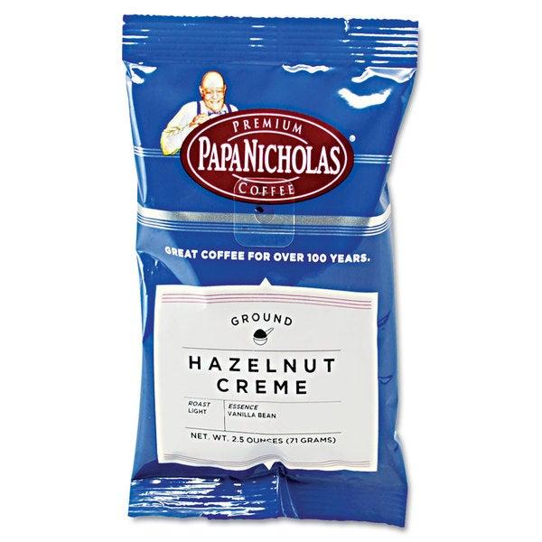 PapaNicholas Coffee Premium Coffee Hazelnut Creme 18/Carton 22996406