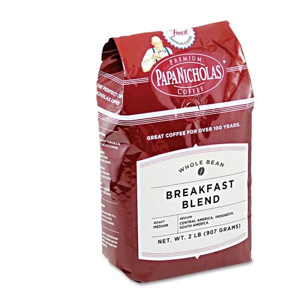 PapaNicholas Coffee Premium Coffee Whole Bean Breakfast Blend 22996533