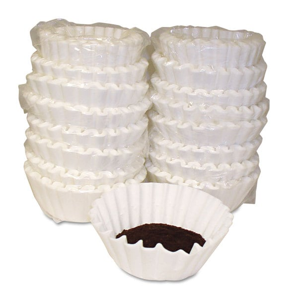Melitta Basket Style Coffee Filters Paper 12 to 15 Cups 800/Carton 22997347