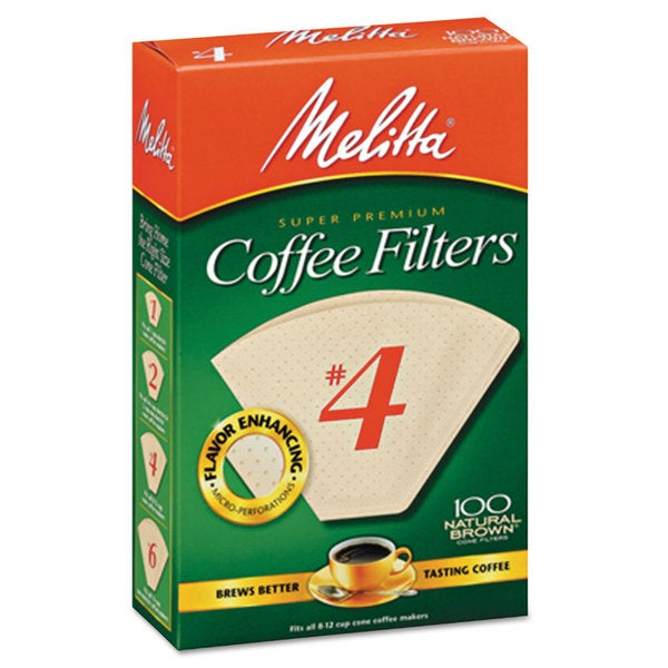 Melitta Basket Style Coffee Filters Paper 8 to 12 Cups 1200/Carton 22997356
