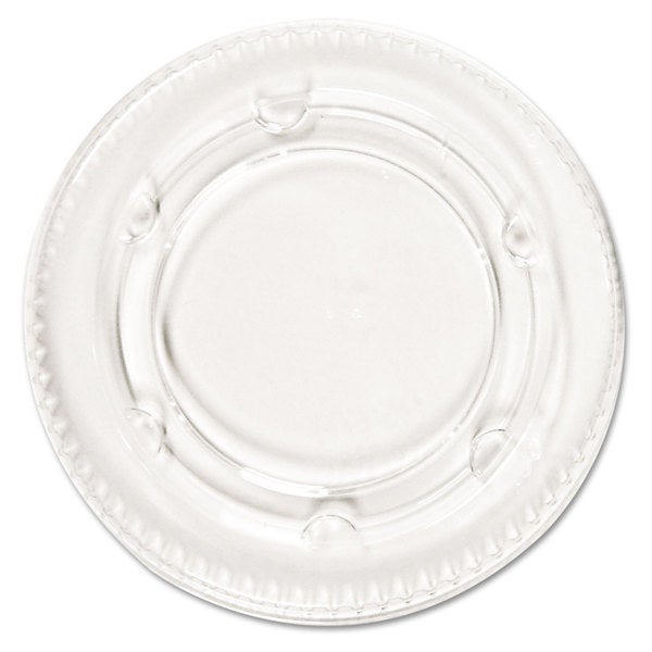 Boardwalk Crystal-Clear Portion Cup Lids Fits 1.5-2.5-ounce Cups 2400/Carton 22997379