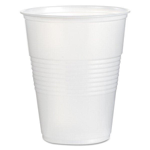 Boardwalk Translucent Plastic Cold Cups 16oz 50/Bag 20 Bags/Carton 22997449