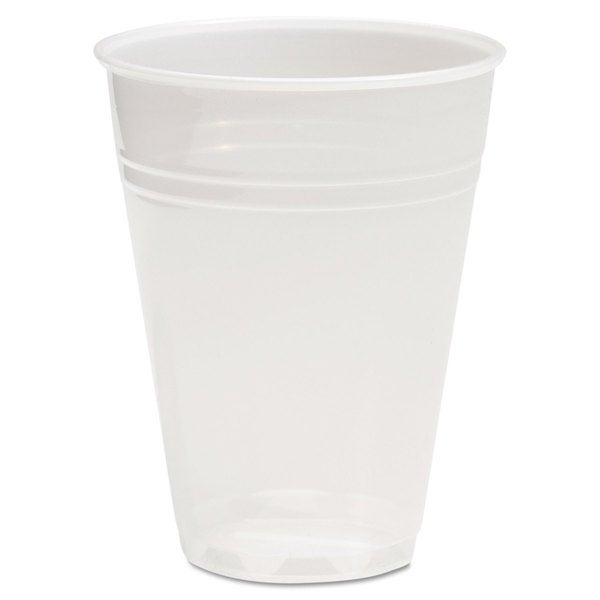 Boardwalk Translucent Plastic Cold Cups 7oz 100/Bag 25 Bags/Carton 22997472