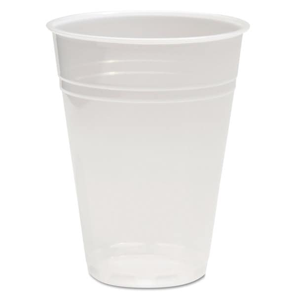 Boardwalk Translucent Plastic Cold Cups 9oz 100/Bag 25 Bags/Carton 22997474