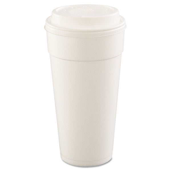 Dart Drink Foam Cups Hot/Cold 24-ounce White 25/Bag 20 Bags/Carton 22998138