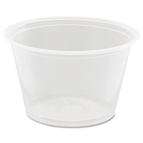 Dart Conex Complements Portion/Medicine Cups 4oz Clear 125/Bag 20 Bags/Carton 22998139