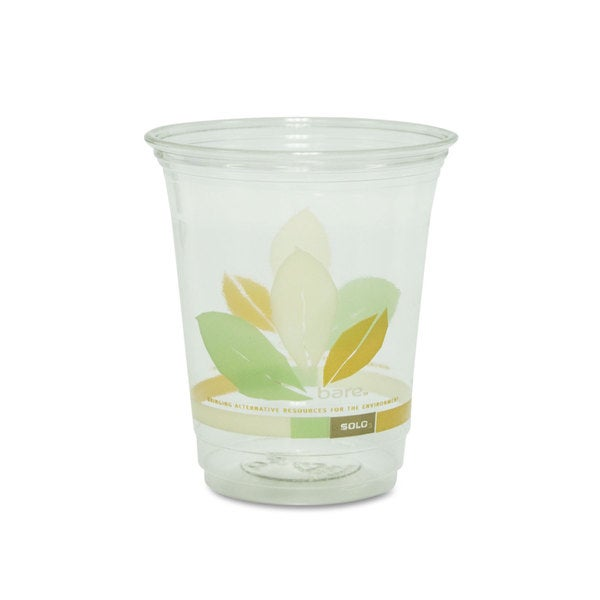 SOLO Cup Company Bare Eco-Forward RPET Cold Cups 12-14-ounce Clear 50/Pack 1000/Carton 22998737