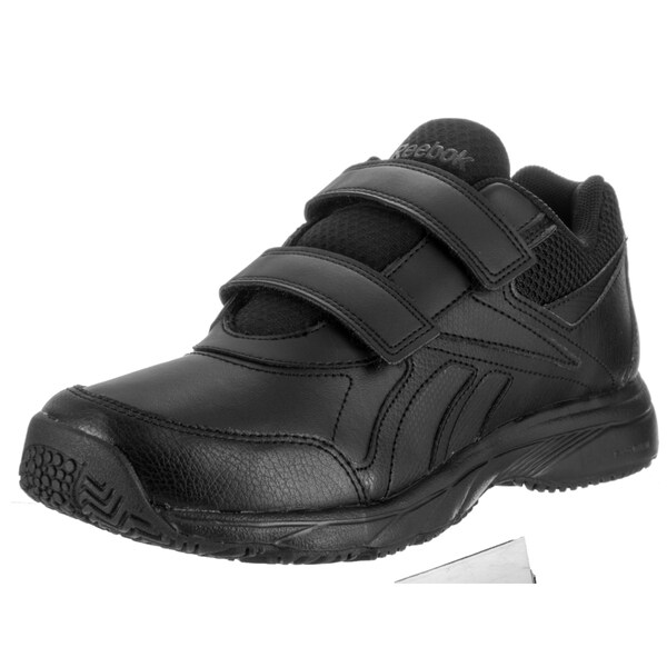 Reebok Women's Work N Cushion KC 2.0 Black Leather Casual Shoe 23014662