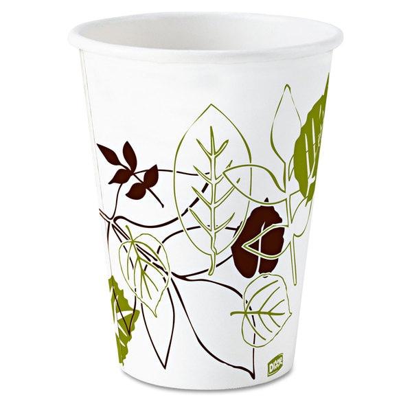Dixie Pathways Paper Hot Cups 8oz 25/Bag 20 Bags/Carton 23059412