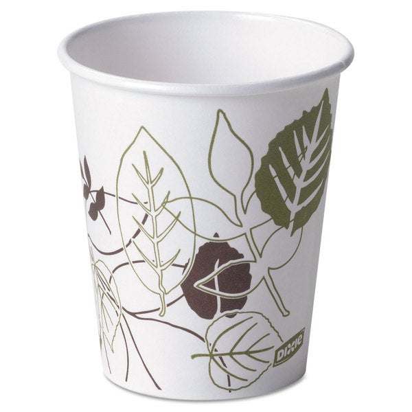 Dixie Pathways Paper Hot Cups 10 -ounce 1000/Carton 23059413