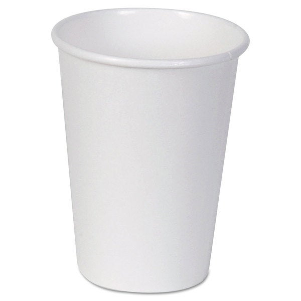 Dixie Paper Cups Hot 12 oz. White 50/Bag 23059441
