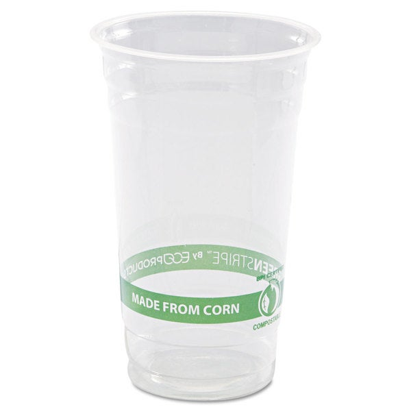 Eco-Products GreenStripe Cold Cups- 24oz. 50/Pack 20 Pack/Carton 23059500