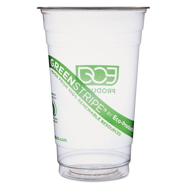Eco-Products GreenStripe Cold Cups - 20oz. 50/Pack 20 Pack/Carton 23059501