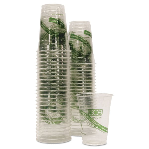 Eco-Products GreenStripe Cold Cups Conv Pack 16oz 50/Pack 10 Pack/Carton 23059505
