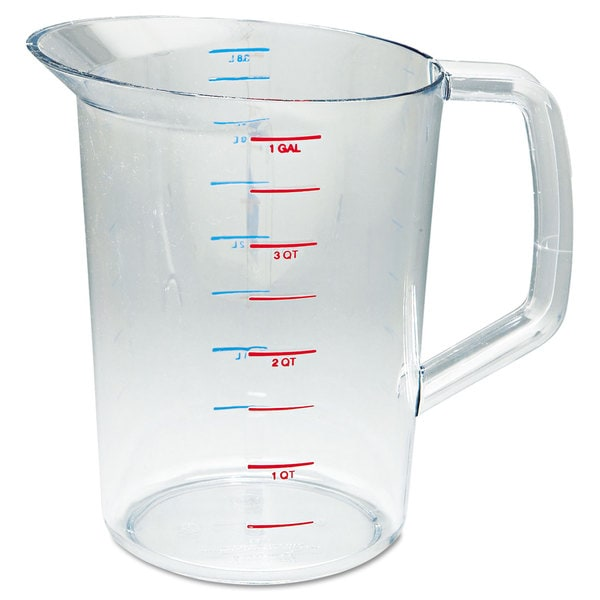 Rubbermaid Commercial Bouncer Measuring Cup 4qt Clear 23059538