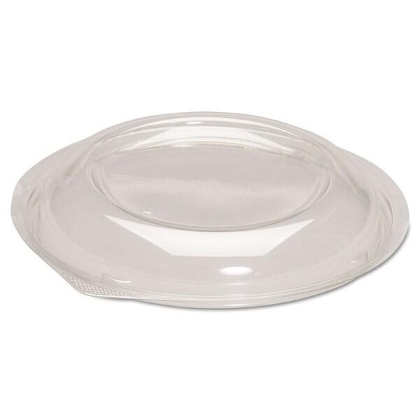 Genpak Dome Lids for Silhouette Plastic Bowls Clear F/24/32-ounce Bowls 200/Carton 23059544