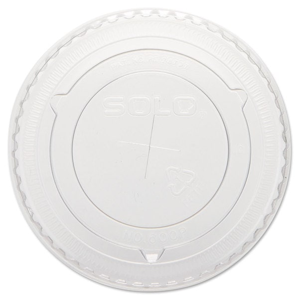 SOLO Cup Company Straw-Slot Cold Cup Lids 10-ounce Cups Clear 23059593