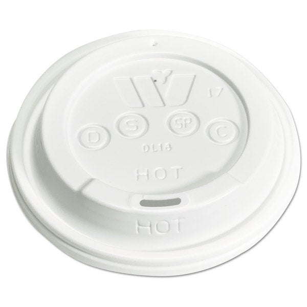 WinCup Vio Lids f/12-24-ounce Cups Dome Green 1000/Carton 23059602