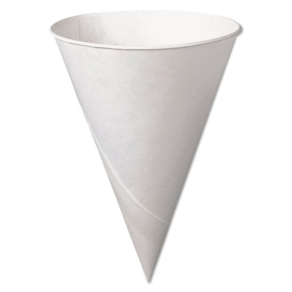 SOLO Cup Company Bare Treated Paper Cone Water Cups 6 oz. White 200/Bag 23059901