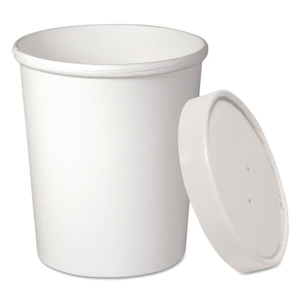 SOLO Cup Company Flexstyle Double Poly Food Combo Pack 32 oz White 25/Pack 23059902