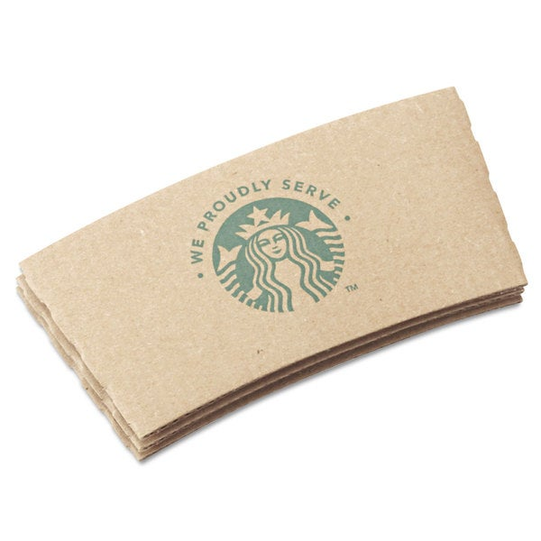 Starbucks Cup Sleeves For 12/16/20-ounce Hot Cups Kraft 1380/Carton 23059908