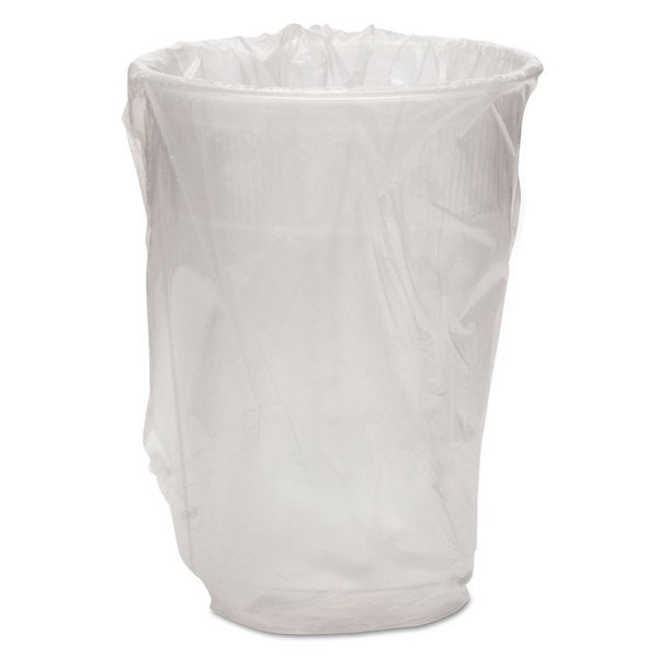 WNA Wrapped Plastic Cups 9-ounce White 1000/Carton 23059930