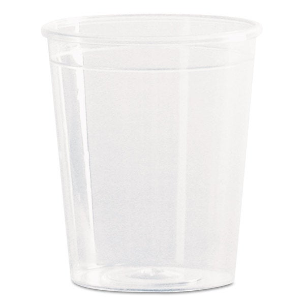 WNA Comet Plastic Portion/Shot Glass 2 oz. Clear 50/Pack 23060053