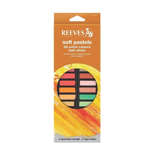 Reeves Multicolored 32-piece Soft Pastel Sets 23061730