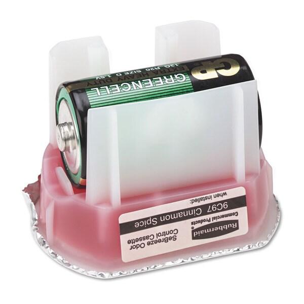 Rubbermaid Commercial SeBreeze 9c90 Fragrance Cassettes Cinnamon Spice Gel .1oz 6/Carton 23065127