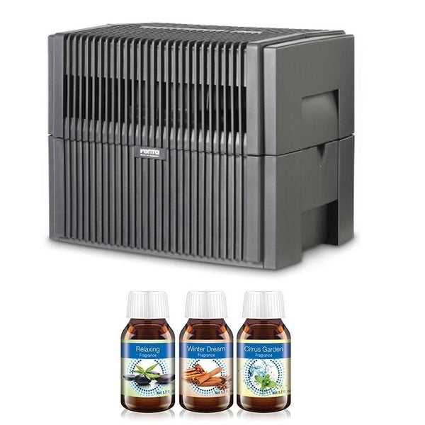 Venta Airwasher LW45G Large Room (Anthracite Gray) 2-in-1 Humidifier and Air Purifier (Relaxing, Citrus & Winter Dream) 23065167