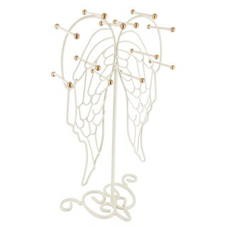 Metal Angel Wing Jewelry Organizer