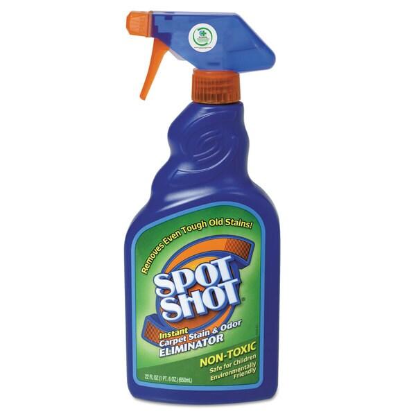 WD-40 Spot Shot Instant Carpet Stain and Odor Eliminator 22-ounce Spray Bottle 6/Carton 23068047