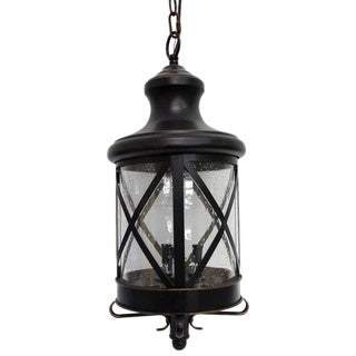 Taysom 3 Light Exterior Hanging Light in Oil Rubbed Bronze