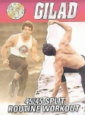 Gilad: Split Routine Vol 1 & 2 Fat Burning Toning (DVD)
