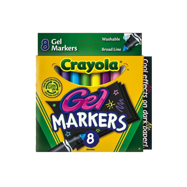 Crayola Washable Gel Markers (4 Packs of 8) 23082159