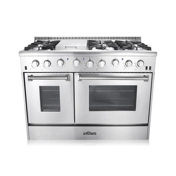 "Thor Kitchen 48"" Double Oven Gas Range (HRG4804U) 23100583"